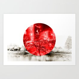 Land of the Rising Sun Art Print