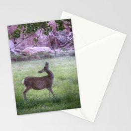 Deer at Capitol Reef Stationery Cards