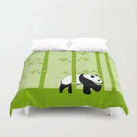 bamboo Duvet Covers featuring Bamboo by Frosty Shades