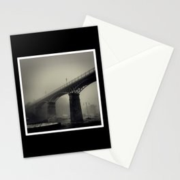 Bridge in the Mist Stationery Cards