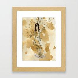 Stages of Seduction: Playful Framed Art Print