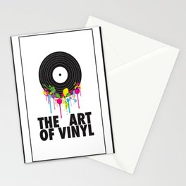 The Art of Vinyl Stationery Cards