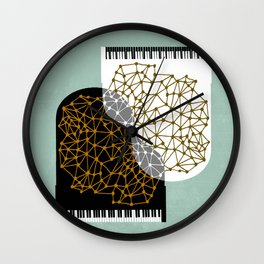 The Entertainers - Two Pianos Wall Clock