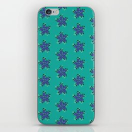 Abstract Fern Pattern iPhone Skin