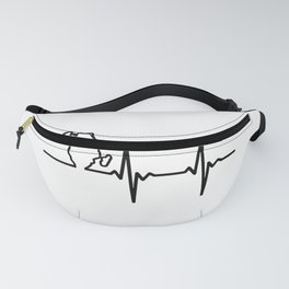 My Heart Pumps Africa Fanny Pack