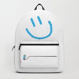 Street Art Happy Face Backpack