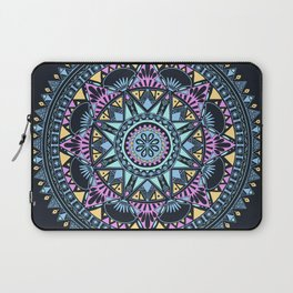 Blue Bohohemian Pattern Laptop Sleeve