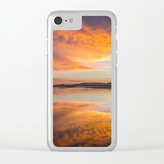 sunrise, Yellowstone National Park Clear iPhone Case