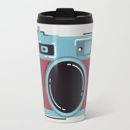 Little Yashica Camera Travel Mug