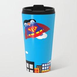 Pengwin that is Super Metal Travel Mug