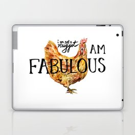I AM FABULOUS Laptop & iPad Skin
