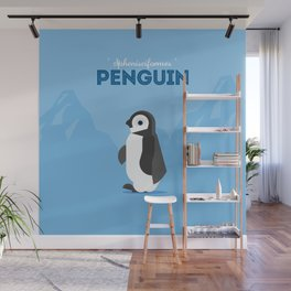 The Penguin Wall Mural