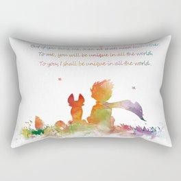 Little Prince Fox Rectangular Pillow