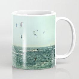 Summer dreams. Kite surf Coffee Mug