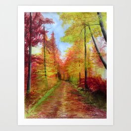 colorful Art Print