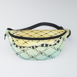 abstract biological illustration Fanny Pack