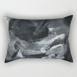 It's Not All Black & White Rectangular Pillow