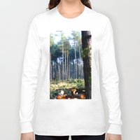 woods Long Sleeve T-shirts featuring Woods by madbiffymorghulis