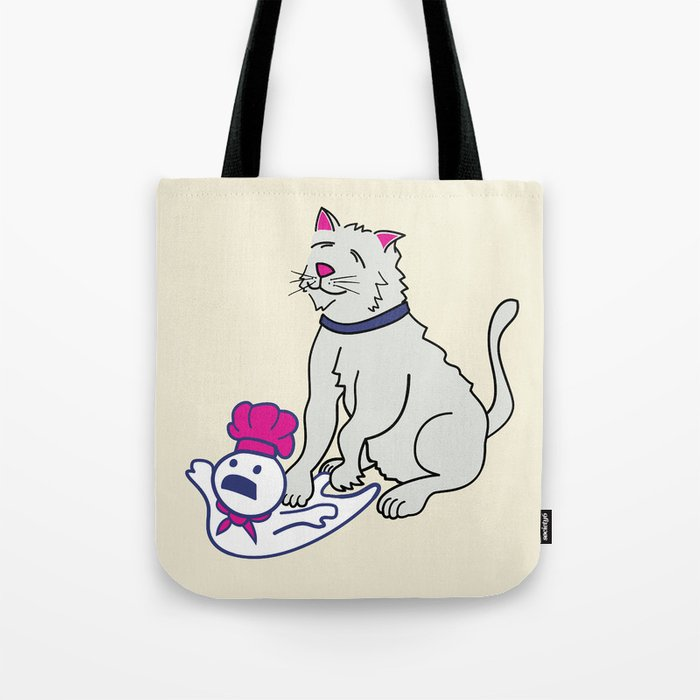 Making Biscuits Tote Bag