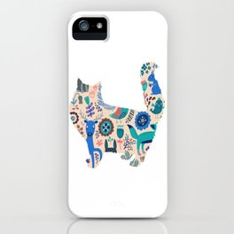 Cat 203 iPhone Case