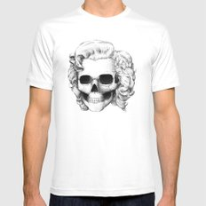 Marilyn MEDIUM Mens Fitted Tee White