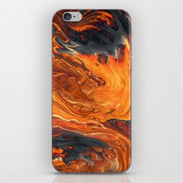Lava Art iPhone Skin