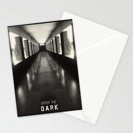 Enter the dark Stationery Cards