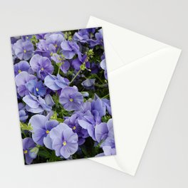 Pansy flower Stationery Cards
