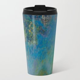 Claude Monet Wisteria Travel Mug