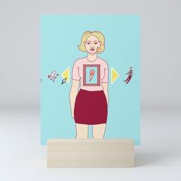 Empty space Mini Art Print