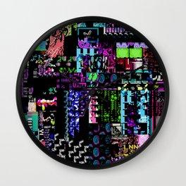 Glitchy Wall Clock