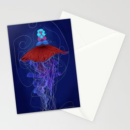 The Jellyfish Whisperer Stationery Cards