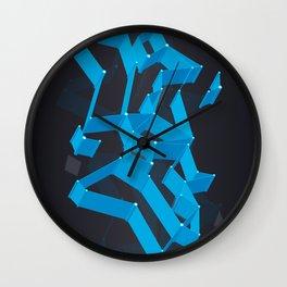 3D X 0.5 Wall Clock