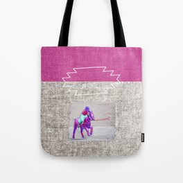 poloplayer grey-mauve Tote Bag
