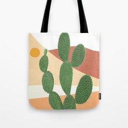 Abstract Cactus II Tote Bag