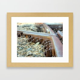 Perfectly Bolted Framed Art Print