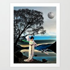 Another Skywalker - Princess Leia, Starwars Art Print