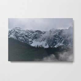 Gray morning in Squamish Metal Print