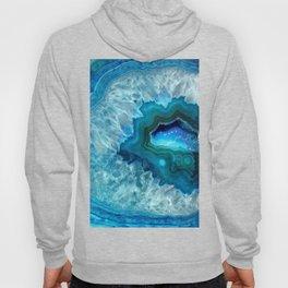 Teal Blue Agate II Hoody