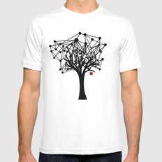 the Tree MEDIUM Mens Fitted Tee White