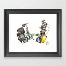 Joel Thomas Framed Art Print