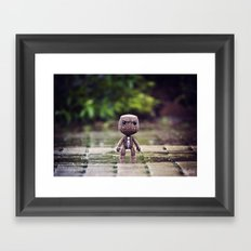 Bloody Rain Framed Art Print