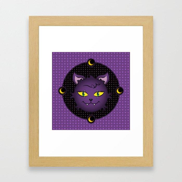 Crescent - Monster High Pet Framed Art Print