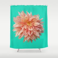 jewish Shower Curtains featuring Flower Petals by Brown Eyed Lady