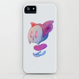 Part of cat iPhone Case