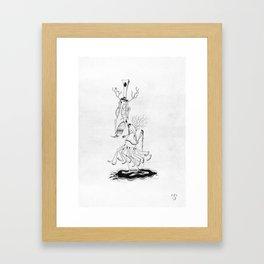 MMMurder Framed Art Print