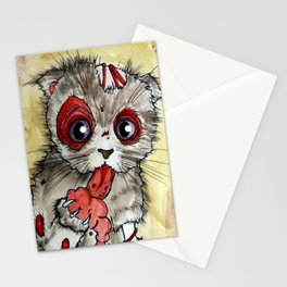 LOL zombie cat Stationery Cards