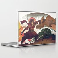 aang Laptop & iPad Skins featuring Avatar State by Caleb Thomas
