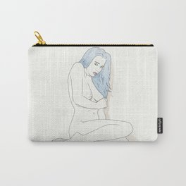 Post modern - Pin up girl Carry-All Pouch