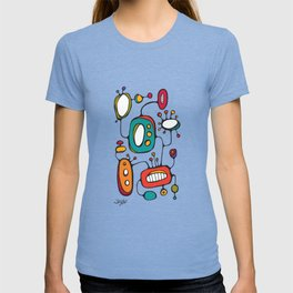 Scribbles 02 in Color T-shirt